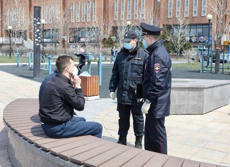 240 нарушителей режима самоизоляции наказаны в Приморье за сутки