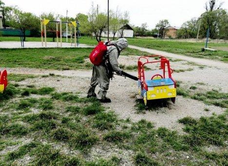 COVID-19: Масштабная дезинфекция общественных пространств прошла в Приморье