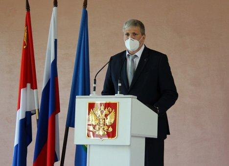 Владимир Пивень вступил в должность главы Арсеньева