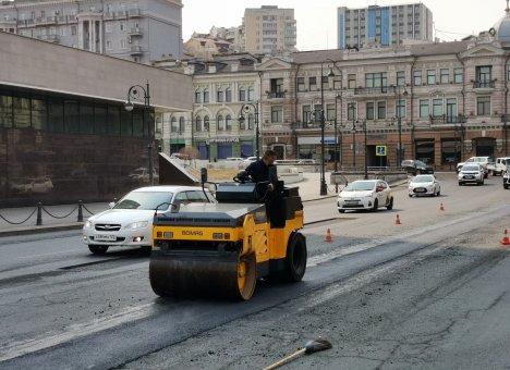 Ремонт дорог набирает обороты