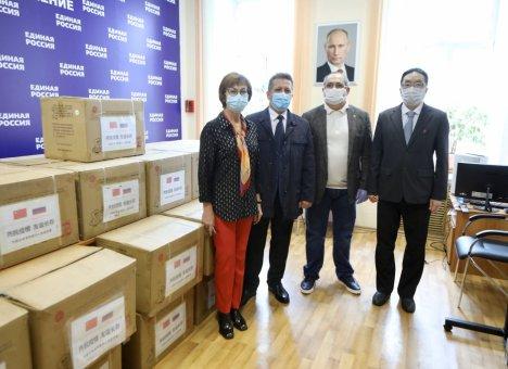 Хуньчунь передал Приморью 50 тысяч медицинских масок