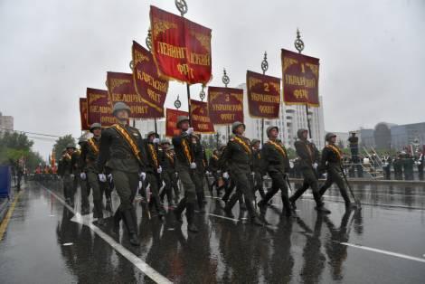 В Параде Победы в Хабаровске приняли участие 3400 военнослужащих
