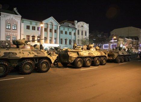 Во Владивостоке начинаются репетиции парада Победы