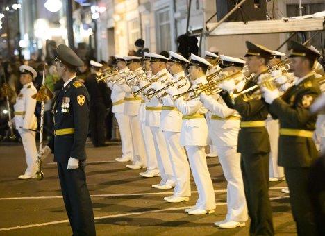 Во Владивостоке запланирована очередная репетиция парада Победы