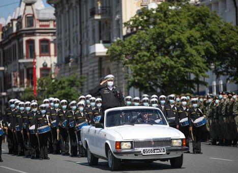 Посмотреть Парад Победы жители Приморья смогут онлайн