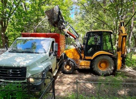 В Приморье ликвидируют мусорные свалки