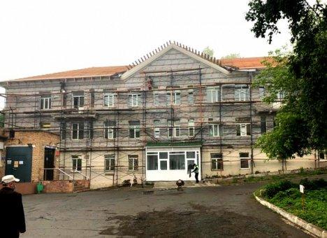 Во Владивостоке ремонтируют поликлинику, которая обслуживает более 20 тысяч человек