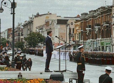 Парад Победы состоялся в Приморье