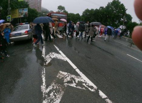 Перекрытие дорог в Находке активистами-экологами возмутило жителей города