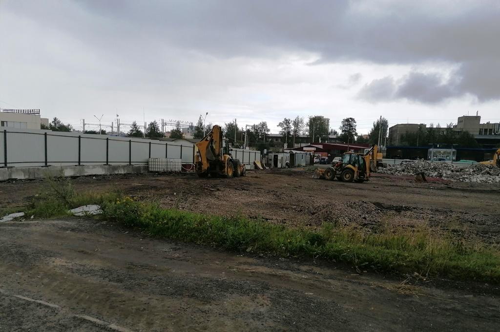 В столице Карелии приступили к реконструкции автовокзала