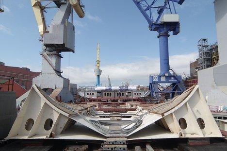 Начато строительство четвертого супертраулера для Русской Рыбопромышленной Компании