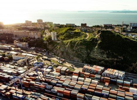Владивостокский морской торговый порт опять идет на рекорд