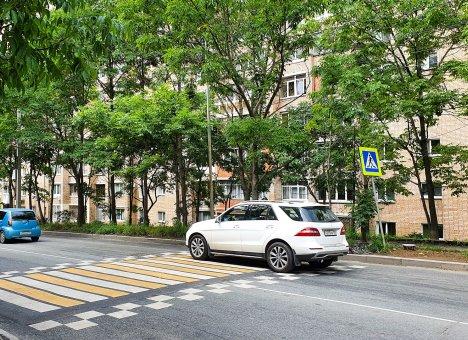 10 приподнятых переходов появятся на дорогах Владивостока