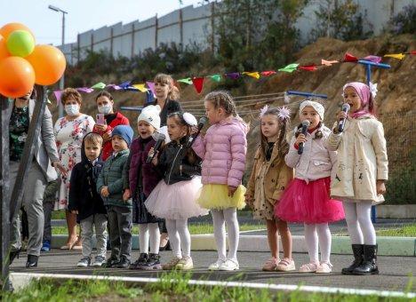 Новый детский сад на 120 мест открыли в Приморье