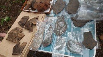 НЗМУ организовал урок археологии на свежем воздухе