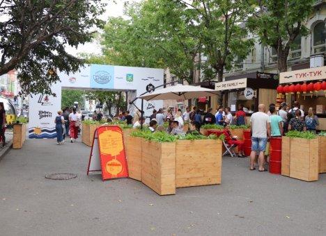 Гастрофестиваль под открытым небом VLADIFOODSTREET открылся во Владивостоке