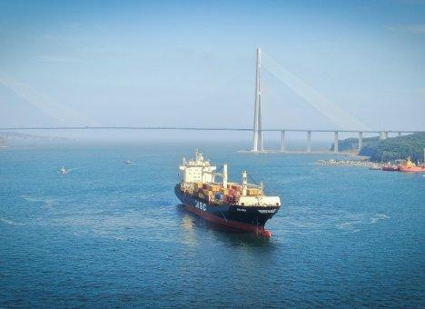 ВМТП стал первым в России портом захода нового контейнерного сервиса MSC