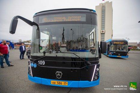 Владивостокцы будут ездить на электробусах