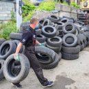 Акция по бесплатной сдаче шин во Владивостоке продлена до конца сентября