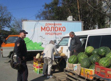 Незаконную торговлю зачищают с улиц Владивостока
