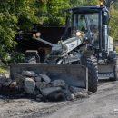 Дорожные службы Владивостока приводят в порядок альтернативную дорогу