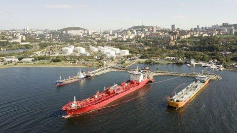 Модернизированный пирс Владивостокской нефтебазы готов принимать бункеровочные суда  АО