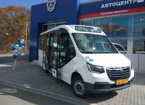 На дороги Владивостока вышел новый автобус