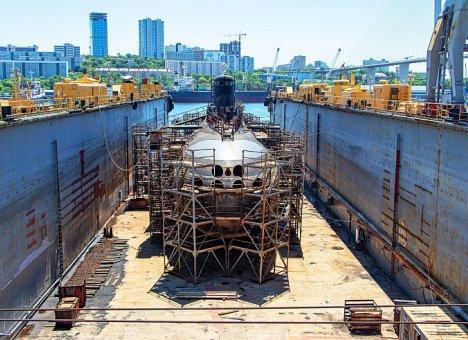 Судостроители Приморья завершили ремонт подводной лодки Тихоокеанского флота