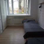 """Спальня, ничего лишнего. Фото: Арт-резиденция """"Сортавала"""""""