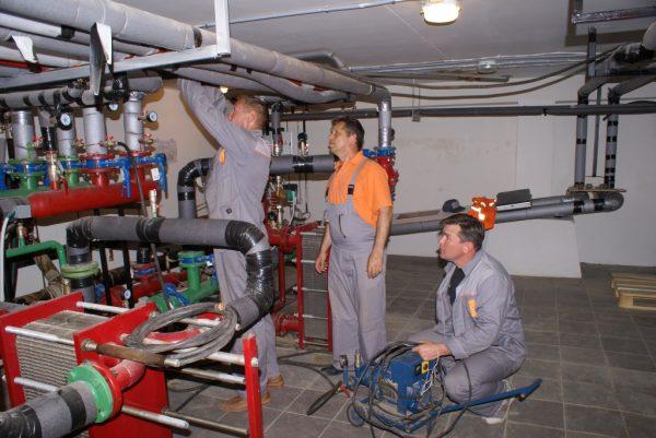 Монтаж и ремонт тепловых пунктов качественно и оперативно
