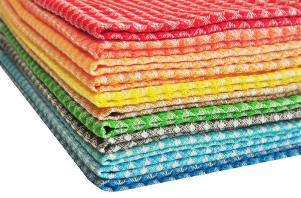 Вафельные полотенца оптом в Новосибирске