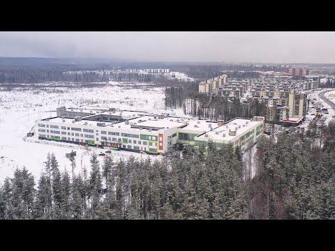 В Петрозаводске продолжается строительство новой школы