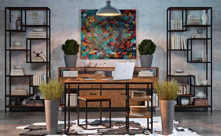 Красивая дизайнерская мебель в стиле Loft