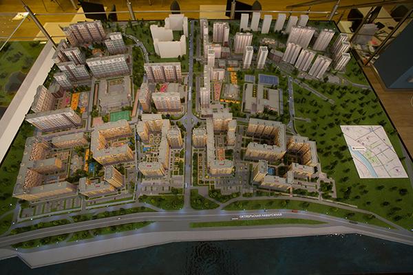 Интерактивный макет ЖК «Дельта», поселок Новоселье